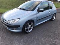 2004 Peugeot 206 full year mot