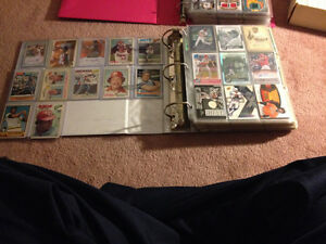 Selling My Card collection, hockey & baseball! Old & New!!!