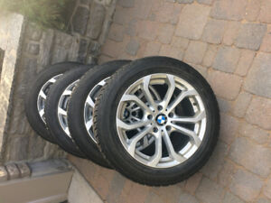 BRIDGESTONE Winter Tires with BMW mags