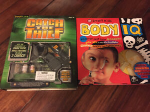 Spiderman and Toy Story board Games and Activity Books