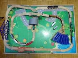 Kid's Train Table - complete with lots of accessories