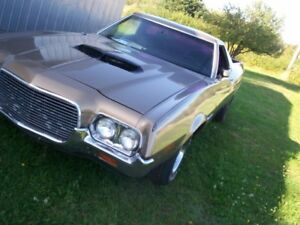 1972 Ford Ranchero GT western truck built 302/automatic