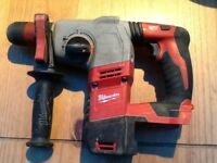 MILWAUKEE HD 18 HX 18v SDS HEAVY-DUTY HAMMER DRILL