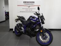 18 REG YAMAHA MT 03 A2 LICENCE APPLICABLE FULLY LOADED WITH ACCESSORIES SAVE NOW