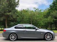 2009 BMW 3 Series 3.0 330d M Sport Highline Coupe Grey *FINANCE & PX WELCOMED