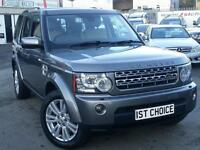 2009 LAND ROVER DISCOVERY 4 TDV6 HSE FANTASTIC STORNOWAY GREY WITH CREAM LEATH