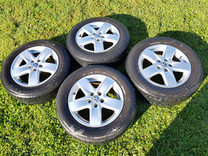 """OEM VW RIMS 15"""" 5X100 with tires"""