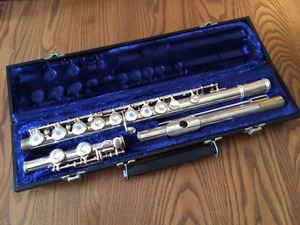 Flute! Open hole, silver plated, Gemeinhardt M3