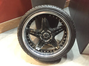 "19"" Axis wheel and tire package"