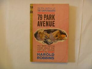 HAROLD ROBBINS - 79 Park Avenue - 1963 Paperback