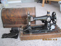 Antique Eaton's Portable Sewing Machine