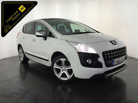 2013 63 PEUGEOT 3008 ALLURE HDI DIESEL 1 OWNER SERVICE HISTORY FINANCE PX