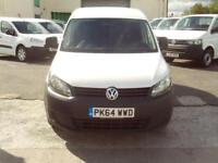 Volkswagen Caddy 1.6TDI 75ps Startline DIESEL MANUAL WHITE (2014)