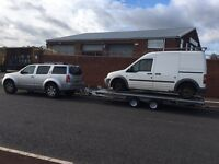 Collections/delivery recovery or scrap cars. Cheapest on the road