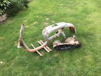 Lambretta LiS125 frame and engine case