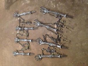 Halloween Skeleton Fencing