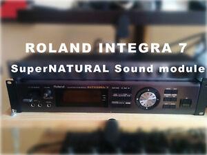 **Roland Integra 7 + Keyboard A88 & Pédalier RPU3**
