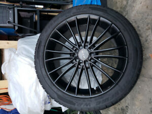 17 RTX rims and tires for sale
