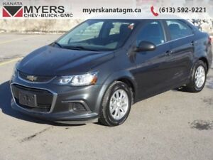 2017 Chevrolet Sonic LT   7-inch central touchscreen, Bluetooth,
