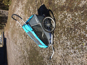 Croozer bike chariot for one