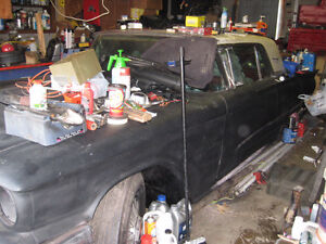 1960  thunderbird  project for sale as is