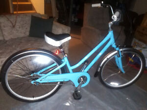 """Ladies 3 speed bicycle in """"as new"""" condition."""