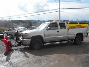 2006 GMC C/K 2500 Pickup Truck with plow and sander