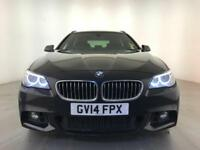 2014 BMW 520D M SPORT AUTOMATIC DIESEL ESTATE SAT NAV 1 OWNER SERVICE HISTORY
