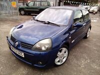 Renault Clio 172 Sport 2.0 Petrol 2003 MOT NOVEMBER 2016 FULL SERVICE HISTORY P/X WELCOME