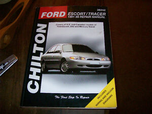 Shop manuel Chilton; Ford Escort / Mercury Tracer 1991 à 1999 West Island Greater Montréal image 1