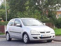 Vauxhall/Opel Corsa 1.2i 16v 2005.5MY SXi, FULL MOT,LOW TAX,LOW INSURANCE