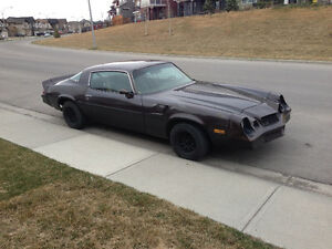 1981 Chevrolet Camaro Z28 - Great Winter Project