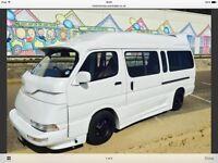 Toyota hi-ace campervan