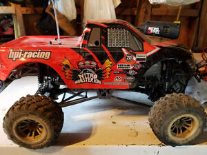 Up for sale rare HPI 20th anniversary monster truck