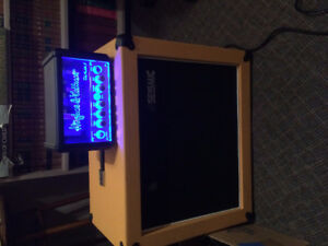 Hughes and Kettner TubeMeister5 + Celestion 60w cabinet speaker