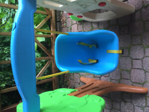 Little tikes swing and slide