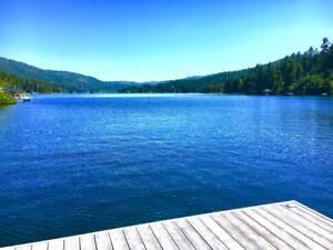 BEAUTIFUL SHAWNIGAN LAKE,  LAKEFRONT CABIN