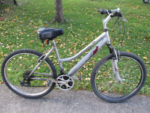 Ladies Used Mountain Bike - Solution To Save Money - Commute