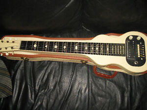 1959 supro lap steel guitar and case