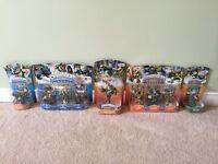Full set of Skylander Legendary figures
