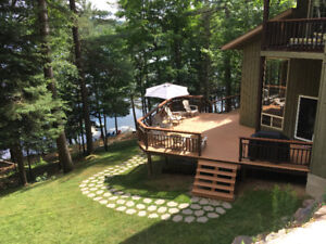 Cottage 6BR Private Lake Front