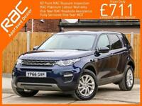 2016 Land Rover Discovery Sport 2.0 TD4 Turbo Diesel SE Tech Auto 4x4 4WD 7-Seat