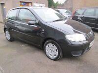 Fiat Punto 1.2 ACTIVE ABS, 12 MONTHS MOT, SERVICED, 3 MONTHS WARRANTY & AA (black) 2006