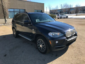 Monaco Blue BMW X5 4.8i w/ Black Heated Leather Int & Rims