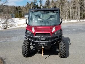 polaris ranger low miles