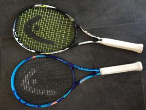 Head Tennis Racquet Bag /Racquets used twice
