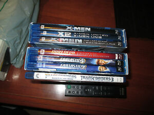 7 BLU RAY ACTION MOVIES $20.00 OBO