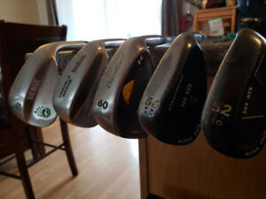 Bundle or Seperate Wedges for Sale - 52/56/60/64/72 Degrees RH