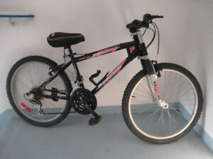 24'' bike with 21 speed front suspension clean tuned up