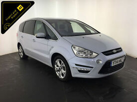 2014 FORD S-MAX TITANIUM TDCI DIESEL 7 SEATER 1 OWNER SERVICE HISTORY FINANCE PX